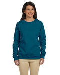 Heavy Blend™ Ladies' 8 oz., 50/50 Fleece Crew