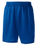 "Adult 7"" Lined Tricot Mesh Shorts"