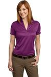 (KVPRINT) Ladies Performance Fine Jacquard Polo