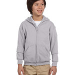 Heavy Blend™ Youth 8 oz., 50/50 Full-Zip Hood