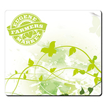 "BIC® 1/4"" Fabric Surface Mouse Pad (7-1/2"" x 8-1/2"")"