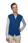 One Pocket Unisex Vest w/ Pencil Divide