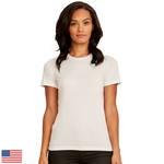 LIGHT Ladies' Made in USA Boyfriend T-Shirt