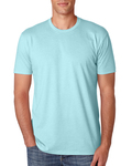 LIGHT Men's Premium Fitted CVC Crew Tee