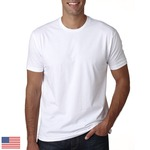 LIGHT Men's Made in USA Cotton Crew