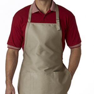 Three-Pocket Apron with Buckle Thumbnail