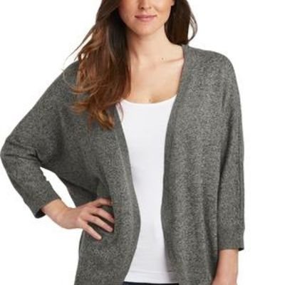 Ladies Marled Cocoon Sweater Thumbnail
