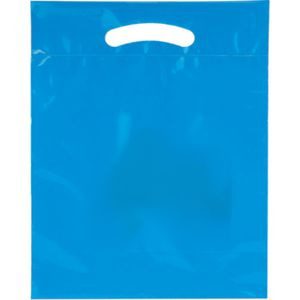 2.5 Mil Fold-Over Die Cut Plastic Bag Thumbnail