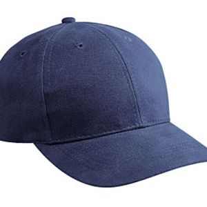 Otto Brushed Bull Denim Low Profile Pro Style Caps Thumbnail