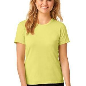 Ladies 100% Ring Spun Cotton T Shirt Thumbnail