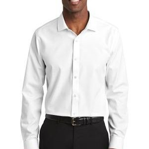 Slim Fit Nailhead Non Iron Shirt Thumbnail
