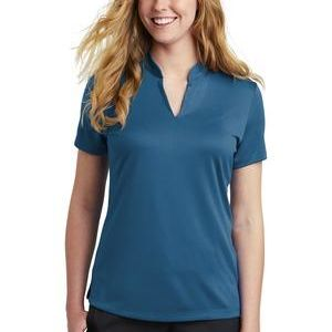 Ladies Dri FIT Hex Textured V Neck Top Thumbnail
