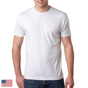 LIGHT Men's Made in the USA Triblend Crew Thumbnail