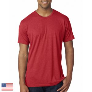 Men's Made in the USA Triblend Crew Thumbnail