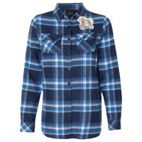 Ladies' Plaid Boyfriend Flannel Thumbnail