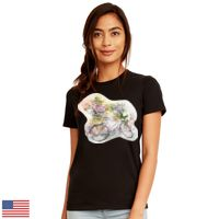 Ladies' Made in USA Boyfriend T-Shirt Thumbnail